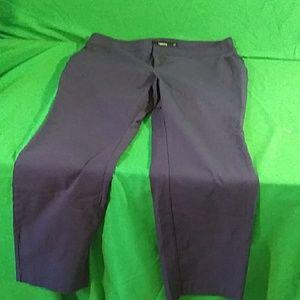 Torrid blue dress pants size 20